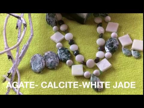 Украшения из натуральных камней Коралл, сердолик, агат .