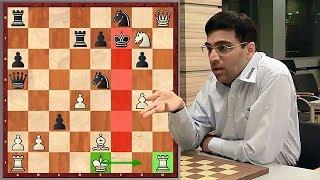 Just Fantastic! Anand Wins By Castling Kingside