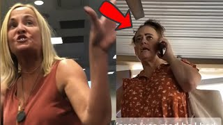 Military Karen Goes Crazy At An Airport And This Happens