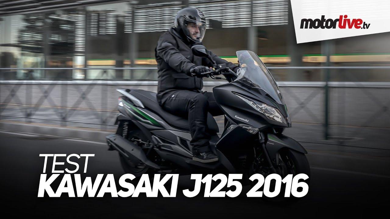 test | kawasaki j125 2016 - youtube
