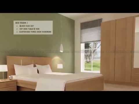 Essential Interiors Package for Flat or Villa in Cochin