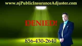 New Jersey Public Adjuster How to get a settlement even if you are denied