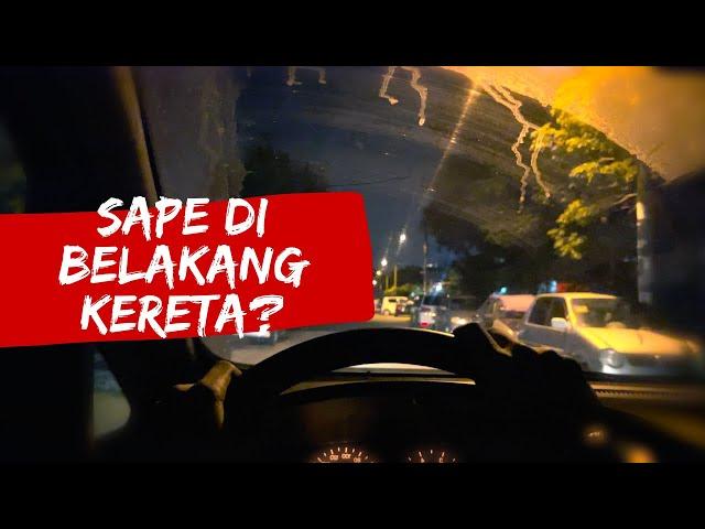 Sape Di Belakang Kereta? | POV Horror short film