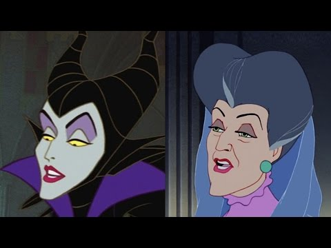 Disney Doppelgängers: Maleficent & Lady Tremaine