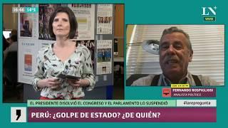 Perú: ¿golpe de Estado? ¿de quién?