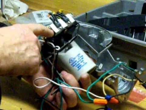 Repair of a Utilitech AL65FLUT 65 Watt fluorescent Dusk to Dawn Security Light  YouTube