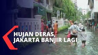Hujan Deras di Sabtu Pagi, Jakarta Banjir Lagi