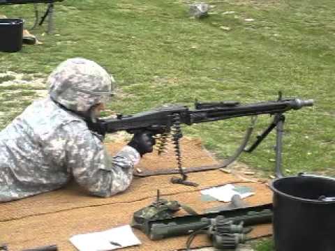 German MG3 Machine gun