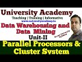 L12: Parallel Processors & Cluster Systems | Data Warehouse Process and Technology