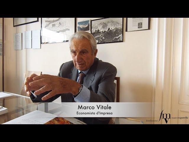 Marco Vitale, ricordi di un guerriero