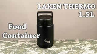 Розпакування Laken Thermo Food Container 1.5 л