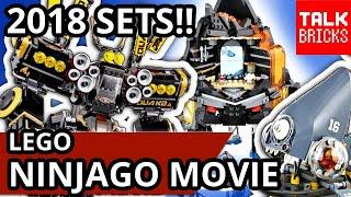 LEGO Ninjago Movie 4 NEW 2018 SETS REVEALED! Wave 2! Quake Mech! Garmadon's Volcano! Piranha Attack!