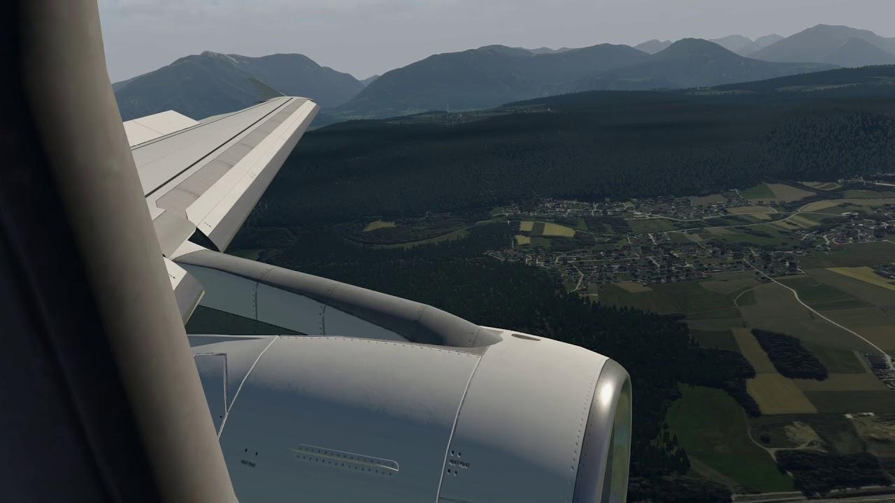 X-Europe Max settings | X-Plane 11 | Landing LOWK by X - Dynamics