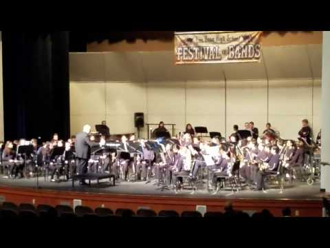 Vineyard Junior High School Concert Band 02 03 2017 A Shaker Hymn