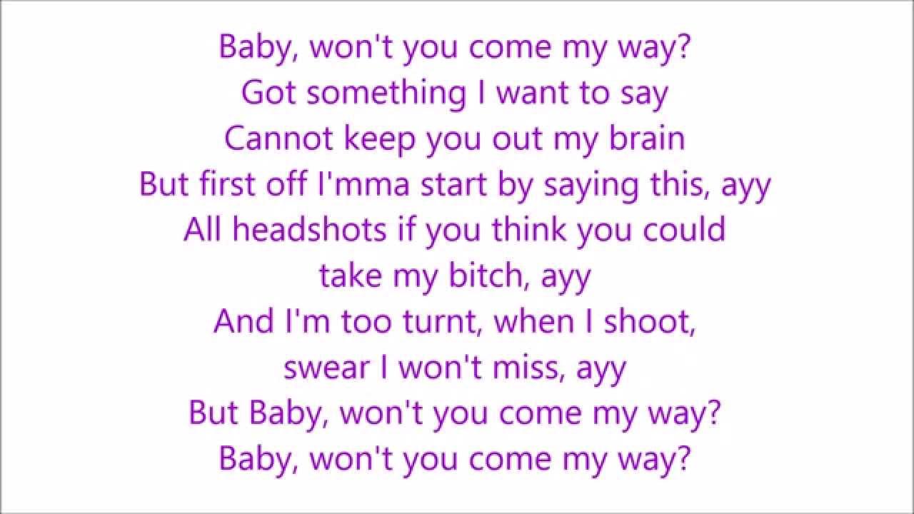 Fetty Wap - My Way Ft. Drake [Lyrics] - YouTube  Fetty Wap - My ...