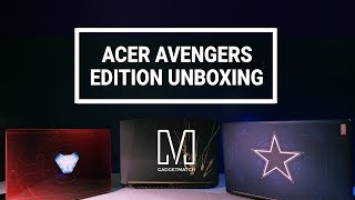 Acer Avengers Edition Laptops Unboxing