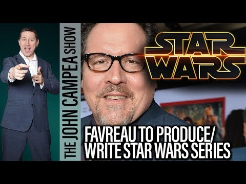 Star Wars Live Action TV Series Coming From Jon Favreau  The John Campea