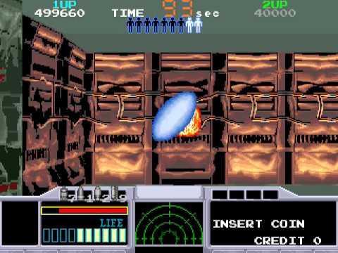 Arcade Longplay [412] Space Gun