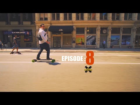 The NYC Electric Skateboard Crew Episode 8 - The Lunch Break