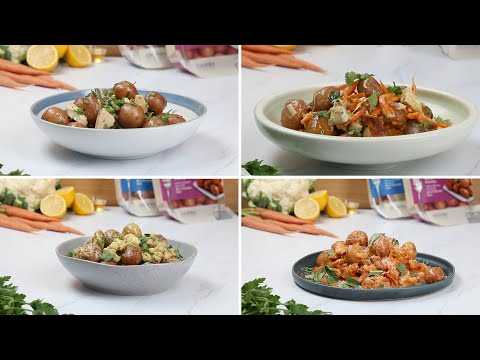 Microwavable Little Potatoes 4 Ways // Presented by BuzzFeed & The Little Potato Company