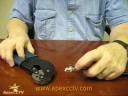 Video Tutorial : How to Crimp a BNC Connector on RG59 Siamese Cable