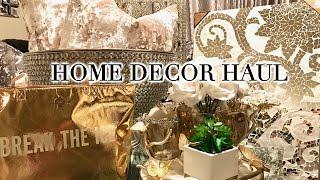HOME DECOR HAUL 2017 |  Homegoods, Target, Ross, & Kate Spade!