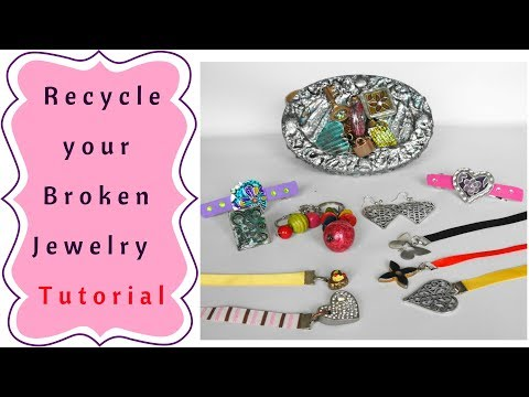 How to use Broken or Old Jewelry  Tutorial