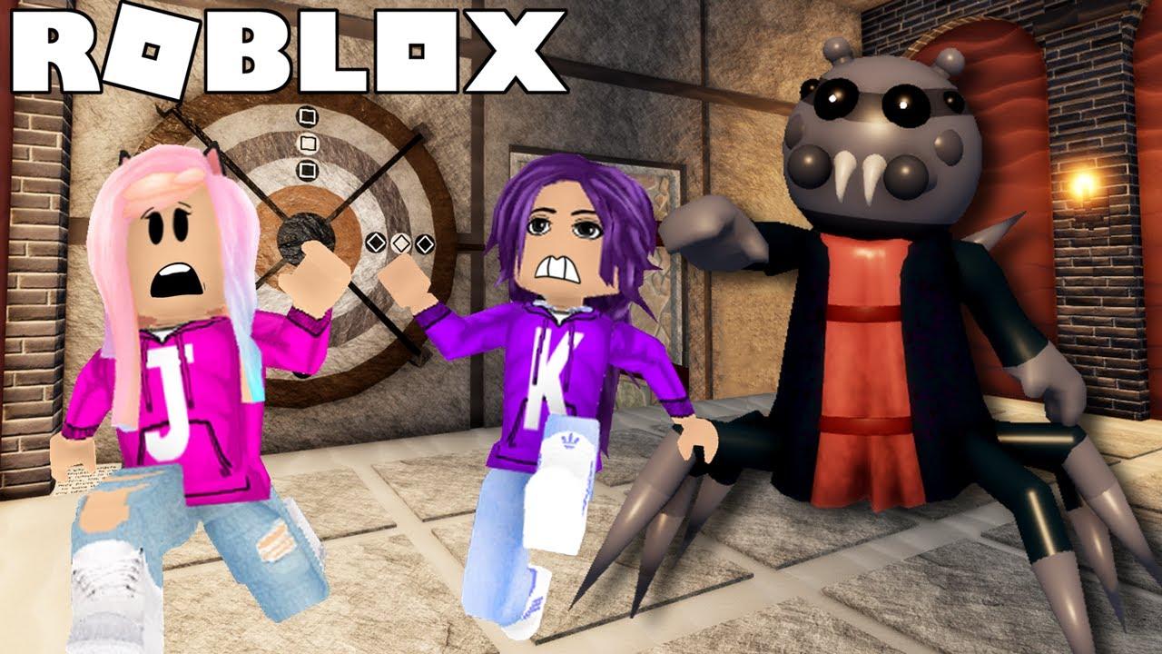 Can we escape the TEMPLE from SPIDELLA?! | Roblox: Piggy