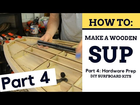 How To Build A Wooden SUP - Getting Ready For The Top Deck [Part 4]