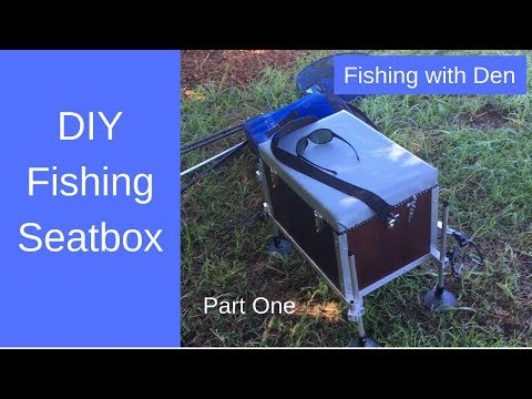 Make A Fishing Tacklebox With Seat & Adjustable Legs - Part One