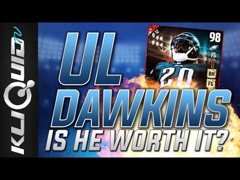 ULTIMATE LEGEND BRIAN DAWKINS   Is It WORTH THE PRICE? Madden 17 Ultimate Team Ultimate Legend