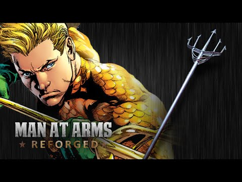 Aquaman's Trident - MAN AT ARMS:REFORGED