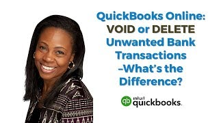 QuickBooks Online   How to Void or Delete Unwanted Bank Transactions in QBO