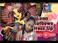 Monster High : Luna Mothews Dress Up GamePlay