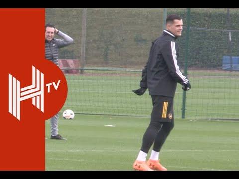 Granit Xhaka Set For Arsenal First-Team Return