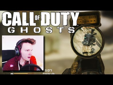 CoD Ghosts - Der QUICKSCOPER Boss! - LIVE mit Danny Burnage #3