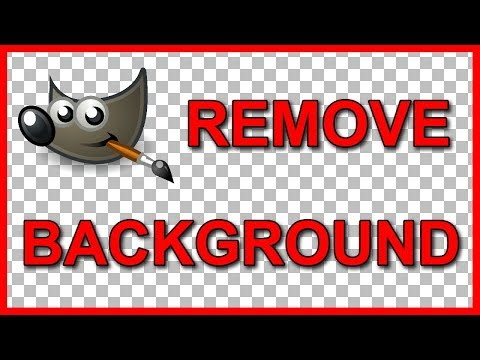 How to make a picture transparent in gimp