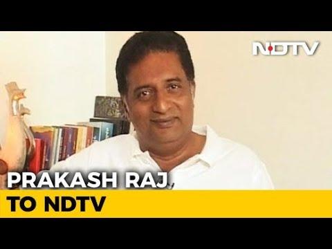 """Actor Prakash Raj Speaks On The """"Padmavati"""" Controversy"""