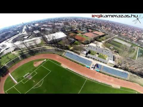 Hódmezővásárhely Sport stadion - Légi Kamerázás   -  Hungary aerial video