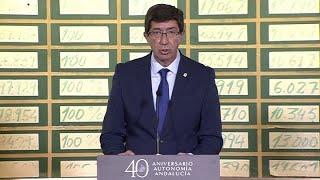 Marin anuncia las Medallas de Oro de Andalucía