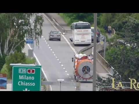 Einsatzfahrt Feuerwehr Lugano