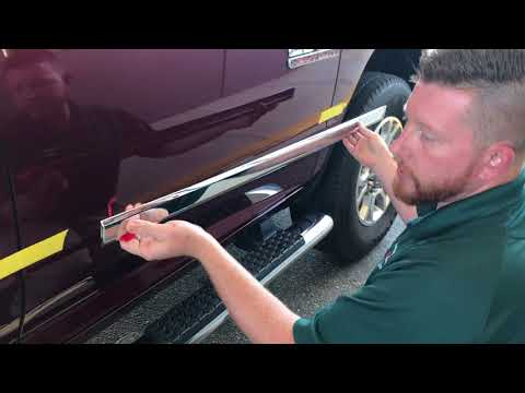 Mopar Dodge Ram Crew or Quad Cab Side Molding Installation Quick & Easy