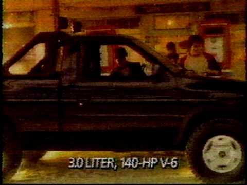 Nissan Hard Body Commercial 1986 Mpg