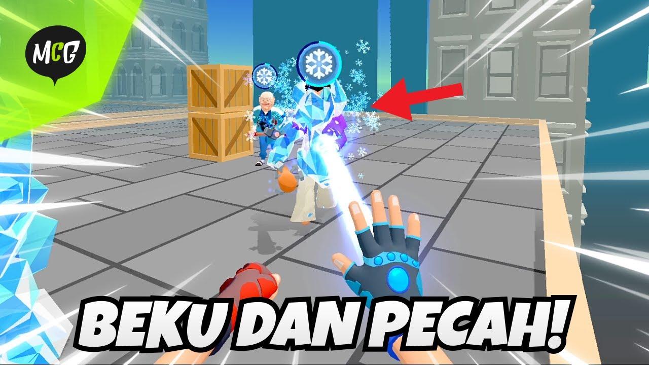Download Bekuin Penjahat Jadi Es Batu Lalu Pecahkan! - Ice Man 3D