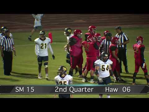Sports Corner: Santa Monica vs. Hawthorne Football 10/13/17