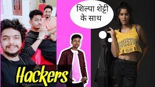 Shilpa shetty reply rikshawali | Manoj day as hacker?