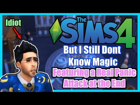 The Sims 4: Realm of Magic, but I'm so Full of Hate |