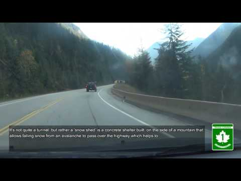 Trans Canada Highway 1 BC - Roger's Pass, Mount Revelstoke  Glacier National Park