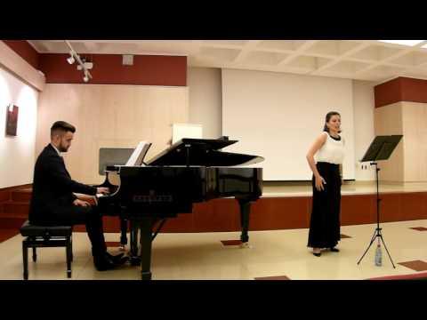 "Antemia Silvia si Moldovan Traian, aria ""Seguidilla"" din Carmen de Georges Bizet"