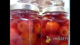 Консервированные яблоки в собственном соку на зиму (моб)